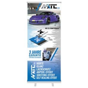 N-XTC.com N-XTC-ROLLUPBANNER N-XTC Quartz Coating Roll Up Banner
